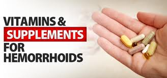 Nutritional Supplements Providing Vitamins to Fight Hemorrhoids